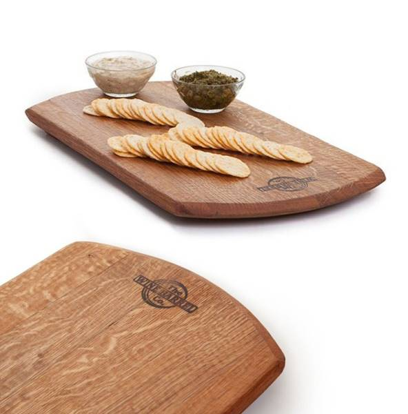 Rectangular serving board